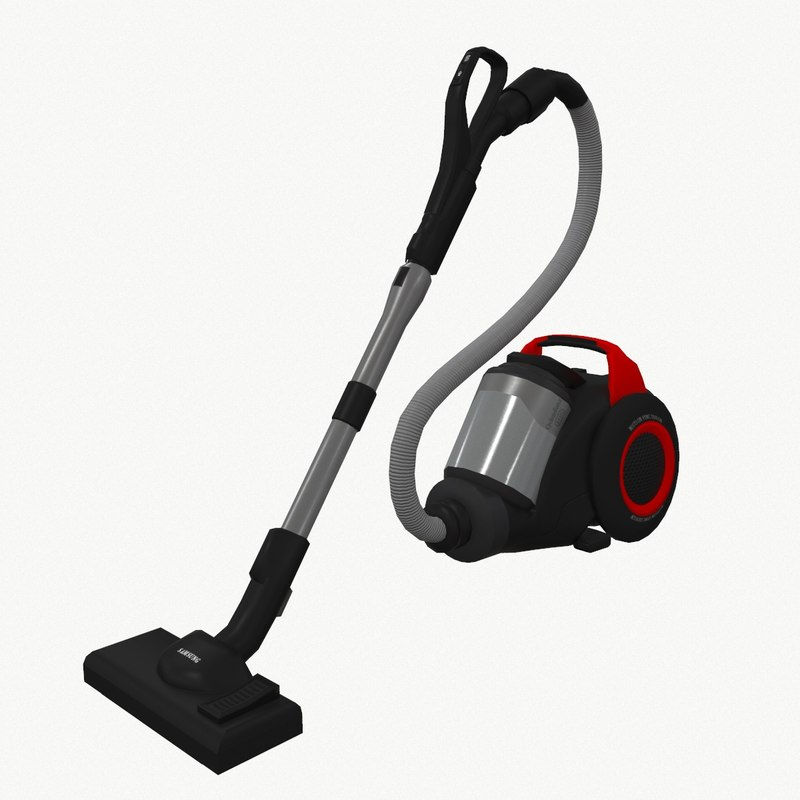 vacuum cleaner samsung 3d model