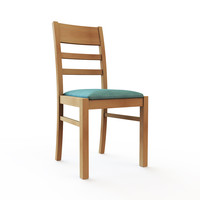 dining chair obj