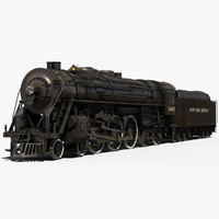 New York Central Hudson steam locomotive