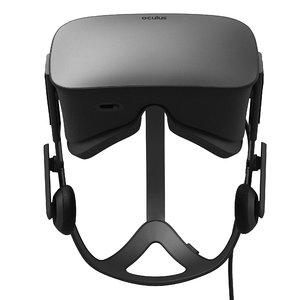 video oculus rift 3d max
