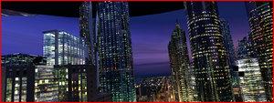 max cityscape skyscraper