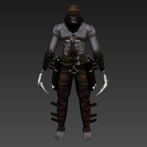 3d mad assassin model