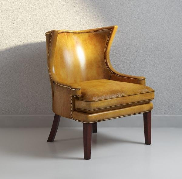 3d jonathan swift chair model