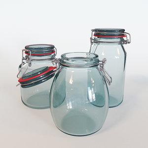 3d sealed jars