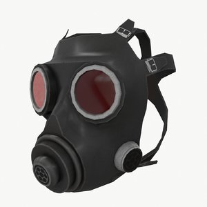 3ds gas mask
