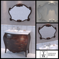 furniture tiffany world barocco 3d x