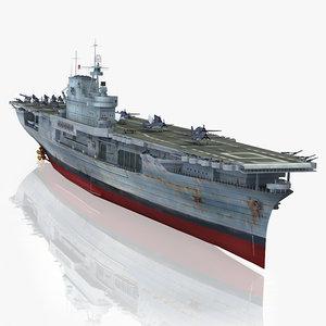 3d model uss enterprise cv