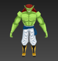 dbz db bojack 3d model