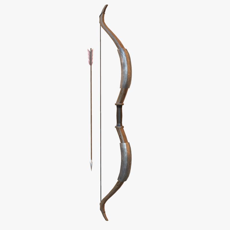 3d longbow bow