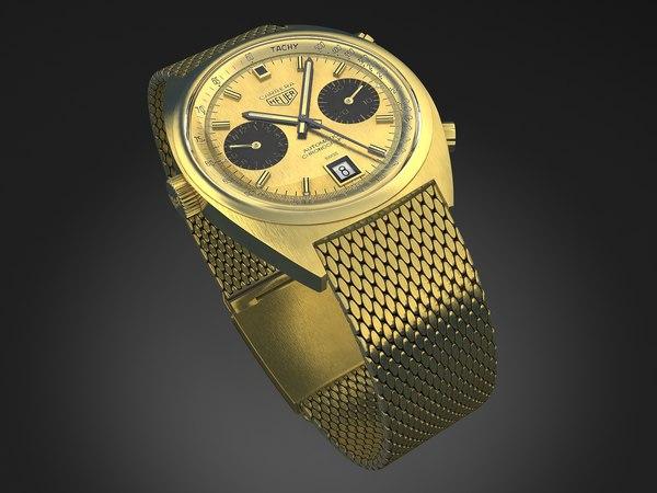 3d carrera watch tag
