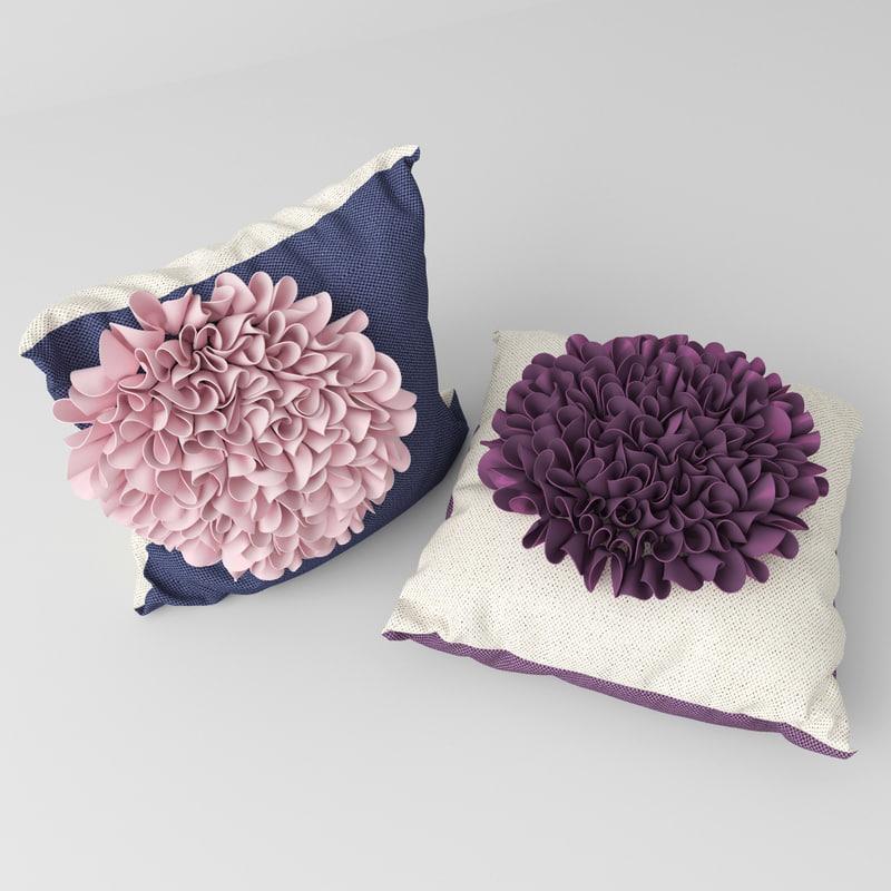 pillow pion 3d model