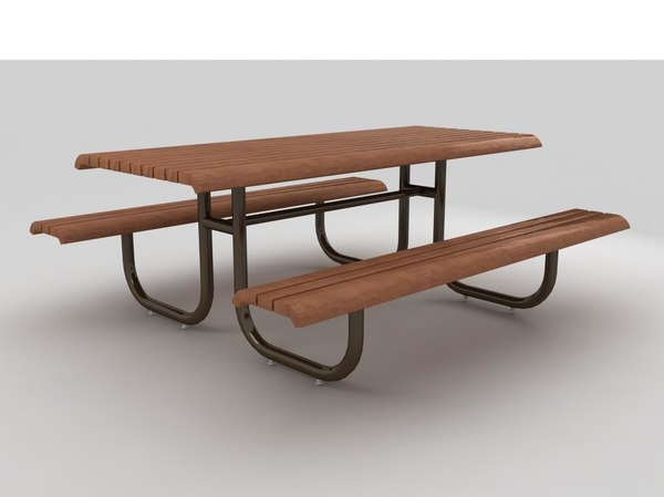 3ds picnic table