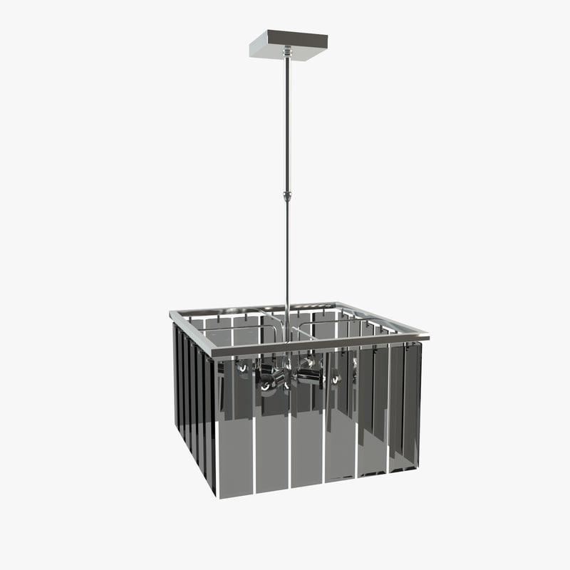 chandelier 359-4s fume idl 3d model