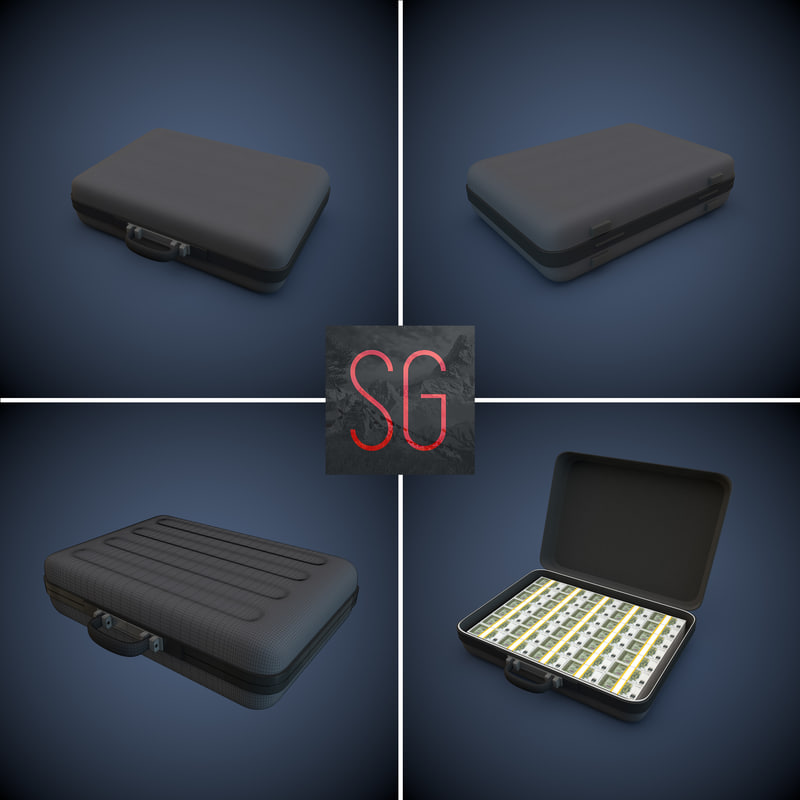 case money 3d model