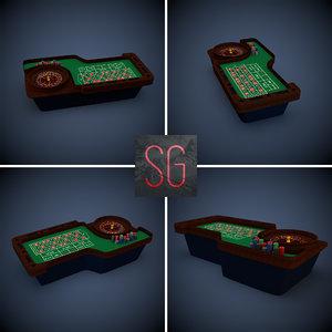 roulette table 3d 3ds