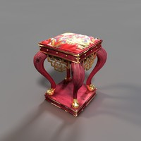 chinese tabouret 3d model