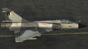 pakistan air force thunder 3d model