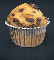 Chocolate chip cupcake