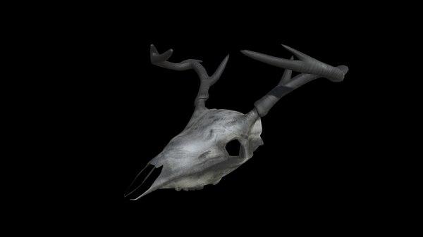deer skull max free