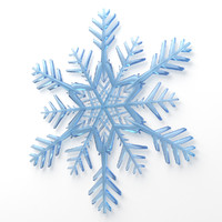 Snowflake Low-Poly