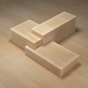 Seamless Balsa Wood texture smooth