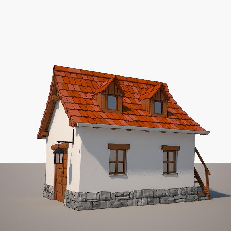 max cartoon house