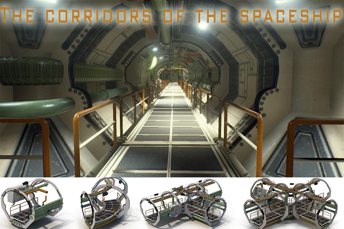 corridors spaceship engine ma