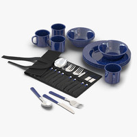 max camping dishes utensils