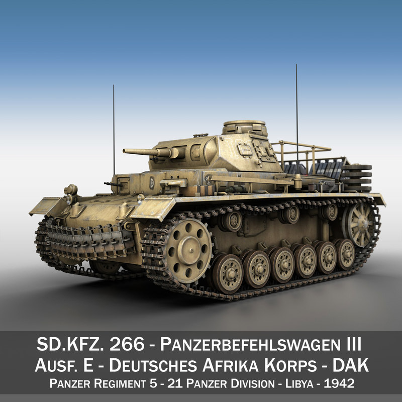 pzbefwg iii - ausf 3d c4d