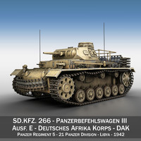 pzbefwg iii - ausf 3d c4d