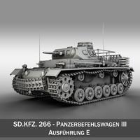 sd kfz 267 - 3d obj