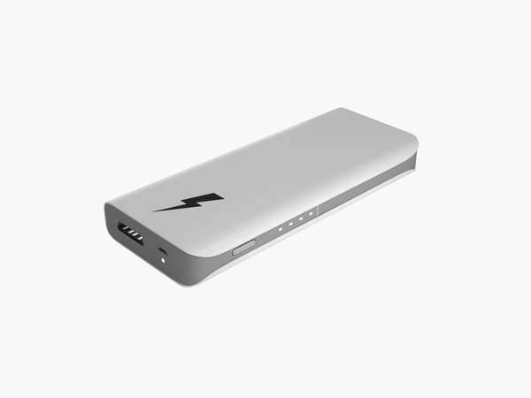 power powerbank 3d model