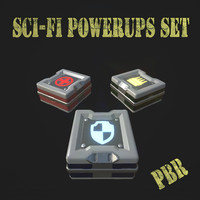 SCI-FI Powerups set