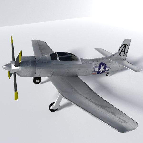 fleetwings plane 3d model