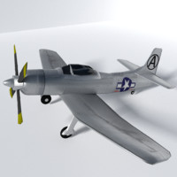 fleetwings plane 3d model