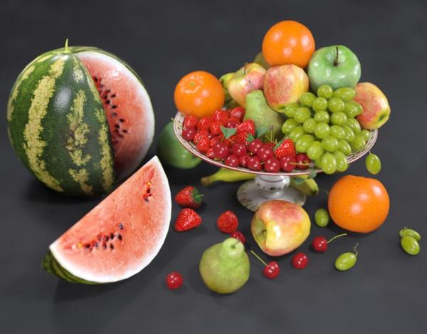 life fruit 3d model