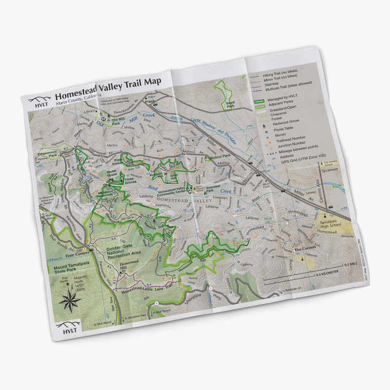 max trail mapped