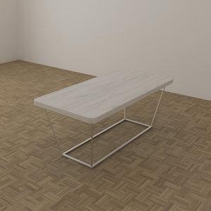 3d model club table 1120 x