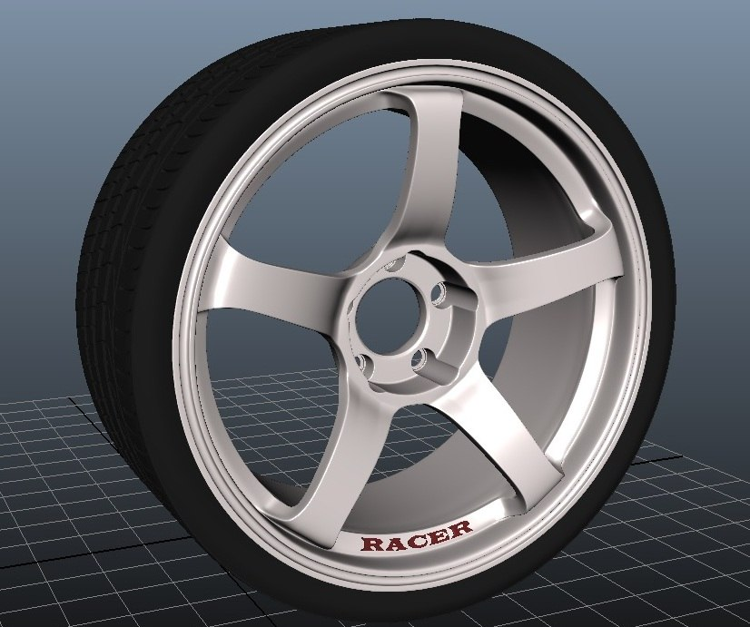 ma advan alloy wheel
