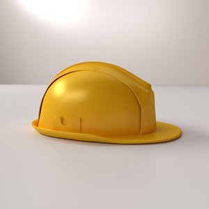 3d model construction helmet