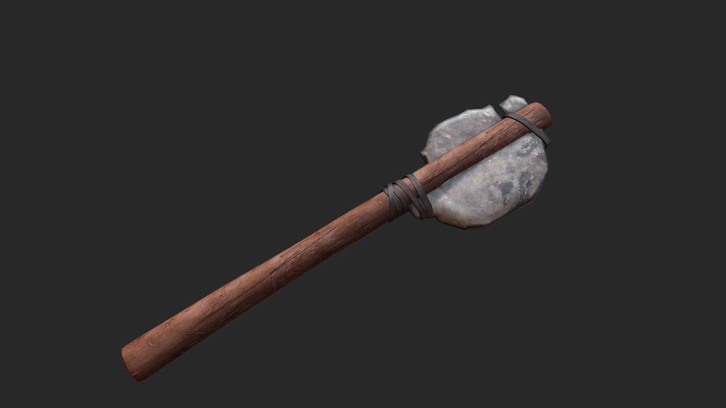 3d axe tools