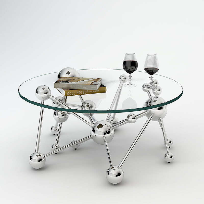 coffee table galileo 3d model