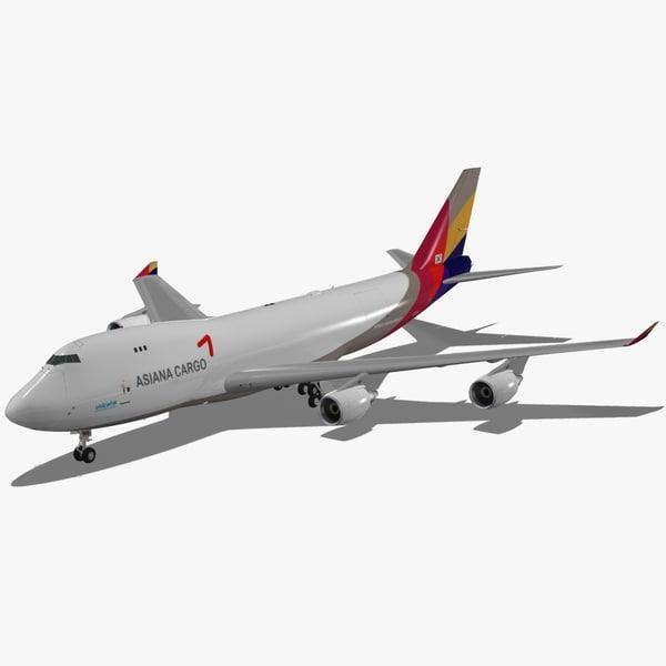 boeing 747-400 f asiana max