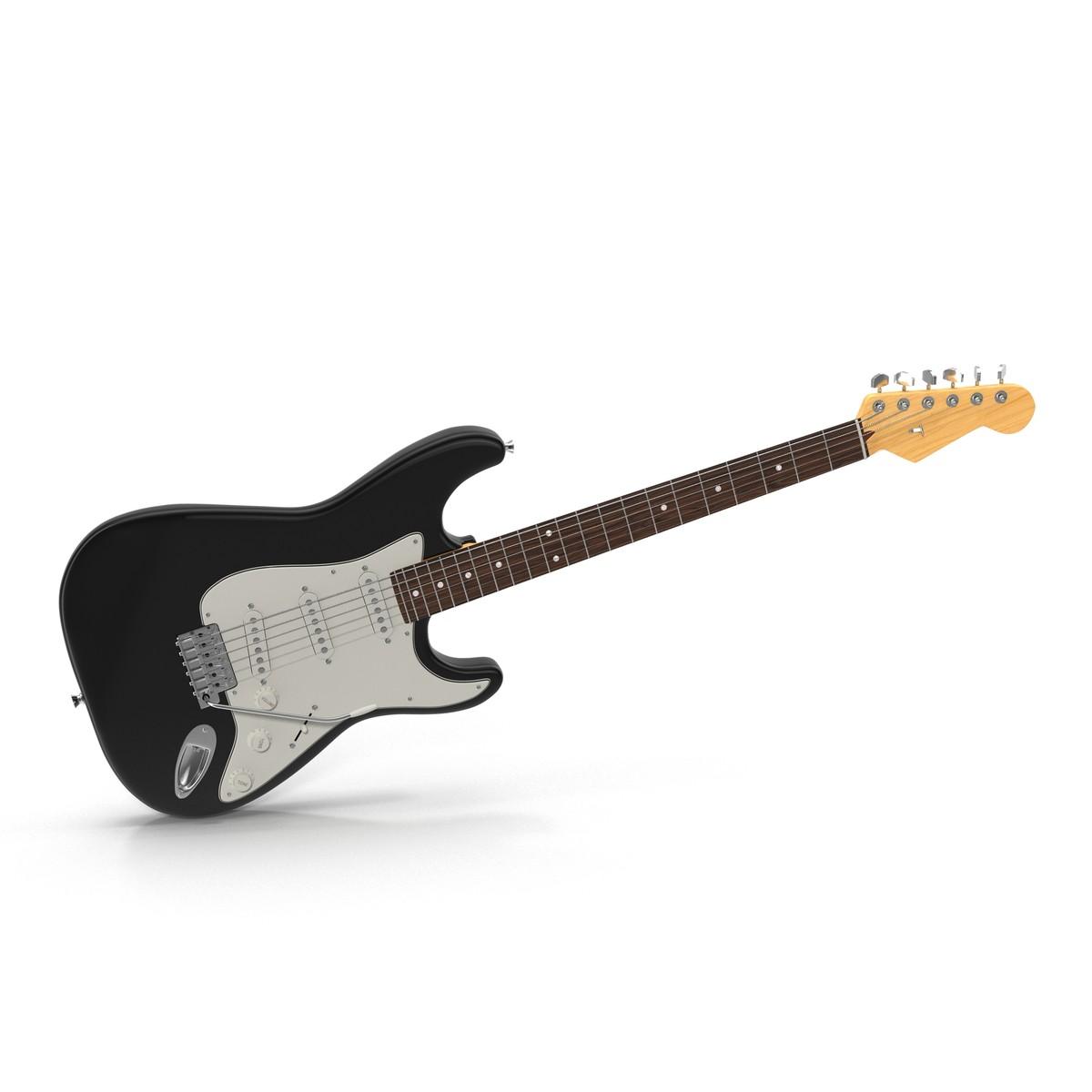 3ds electric guitar generic