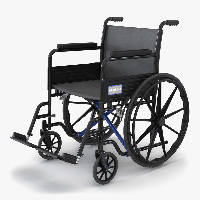 3d wheelchair generic model