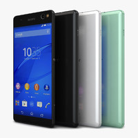 3d model sony xperia c5 ultra