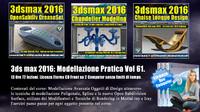 061 3ds max 2016: Modellazione Pratica Cd Front V 61