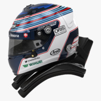 Valtteri Bottas 2015 style Racing helmet