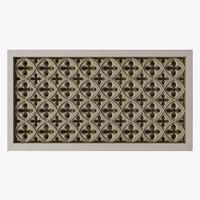 radiator screen 3d max