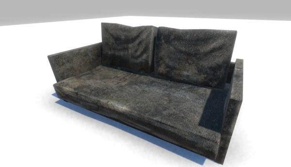 3d sofa games unity model
